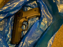 Firearm recovered following search in Thornton Heath