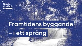 Nordic ConTech Talks: Framtidens byggande – i ett språng!