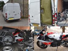 Stolen van and contents from Balciunas unit