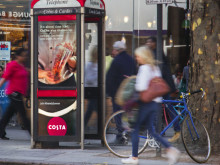 Costa shakes up the nation's streets with lenticulars