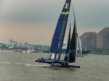 Bluewater To Supply Sweden's 2017 America's Cup Challenger 'Artemis Racing' With Pristine Drinking And Cooking Water Direct From Bermudian Team Base Taps