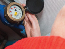 NSVA testar avläsning av vattenmätaren via mobilen