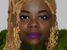 Efit of woman police need to identify