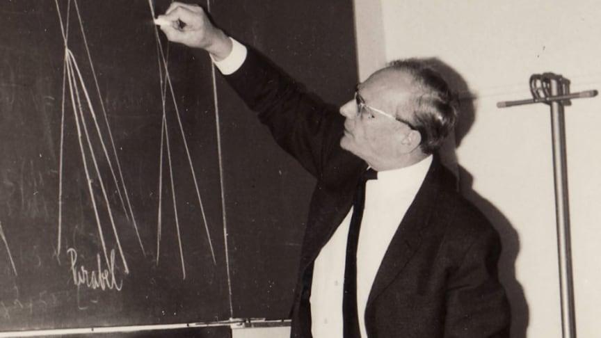 Dr. Hans Lues war der erste Schulleiter in Louisenlund