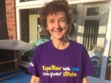 Stafford woman tackles 10k for the Stroke Association in memory of mum