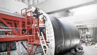 Auftragssumme in dreistelliger Millionenhöhe für ARGE aus Wayss & Freytag Ingenieurbau und ZÜBLIN (Sujetbild / Copyright: Ed. Züblin AG)
