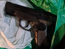 Op Speicher suspected firearm seized