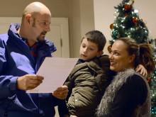 Christmas surprise for long-serving Air Ambulance paramedic