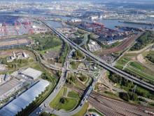 STRABAG baut Deutschlands längste Autobahnbrücke auf acht Fahrspuren aus
