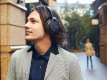 Trådløs musikkopplevelse: Fire nye Bluetooth hodetelefoner fra Sony