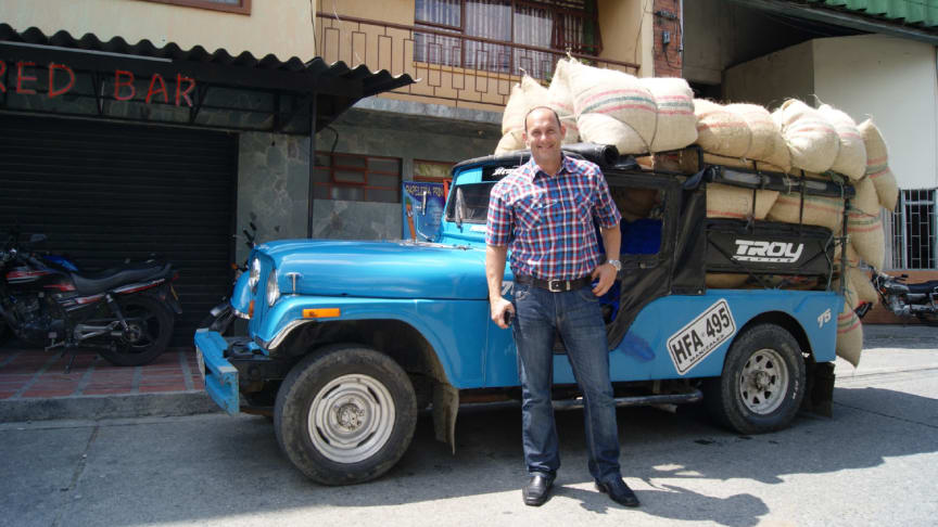 With more than 30 years in the industry, Tony Broman has visited most of the world's coffee growing countries. 25 years ago, he and Löfbergs imported the first container of organic coffee to Sweden.