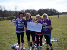 Nottingham runners race to fundraising success for the Stroke Association