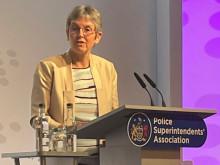 Commissioner Cressida Dick addresses Police Superintendents' Association Conference