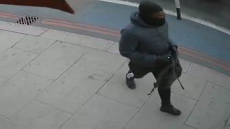 [CCTV still of man sought]