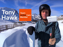 "Se videon ""Holidays in 4K"" med Tony Hawk"