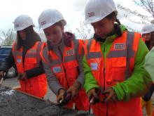 Girls'Day 2018: Ein Tag auf der Baustelle