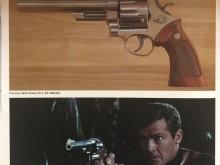 Roger Moore's Smith & Wesson Model 29 .44 magnum revolver