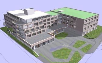 ZÜBLIN, Holzhybrid-Neubau Elias-Schrenk-Haus, Tuttlingen