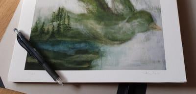 Lär känna Åsa Falks konstvärld på Vinterspår.