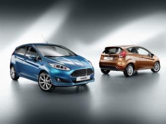 Två Nya Ford Fiesta