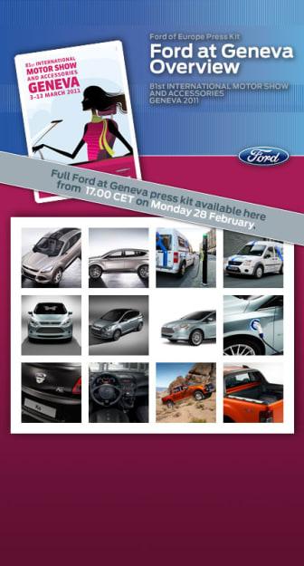 Ford på Genève Motorshow 2011