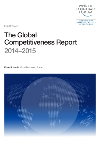 The Global Competitiveness Report 2014 - 2015