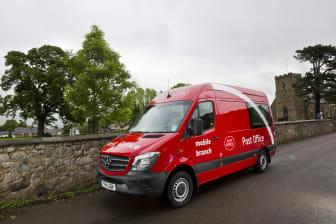 Post Office Corporate van