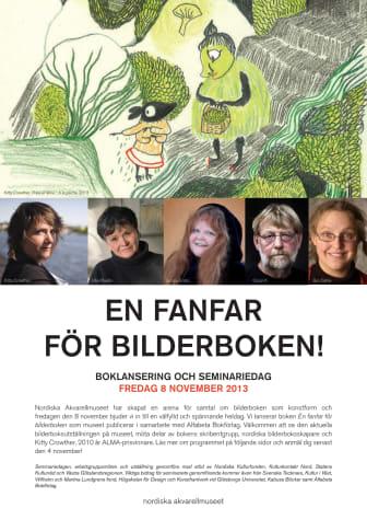 Nordiska Akvarellmuseet lanserar hyllningsbok om bilderboken som medium