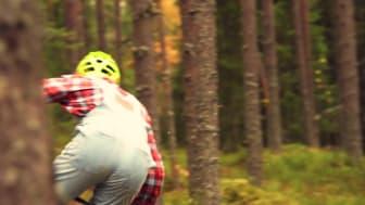 Brage Vestavik åpner ny sykkelsti i Trysil