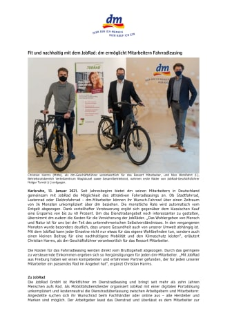 21-01-13 PM_Fit und nachhaltig mit dem JobRad_dm ermöglicht Mitarbeitern Fahrradleasing.pdf
