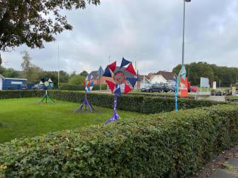 Vindens farver - kunst og skulpturer i Bælum