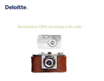 Deloitten selvitys - Sustainability: CFOs are coming to the table