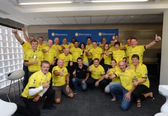 Discovery Daryl Impey Peloton for 94.7 Cycle Challenge
