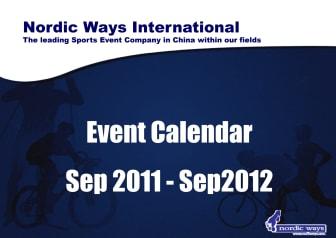 Nordic Ways 2012 Event Schedule