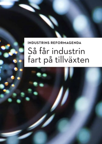 Så får Sverige fart på tillväxten, 12 reformområden. Här kan du läsa rapporten
