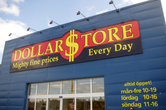 Storefront DollarStore Svenstavik
