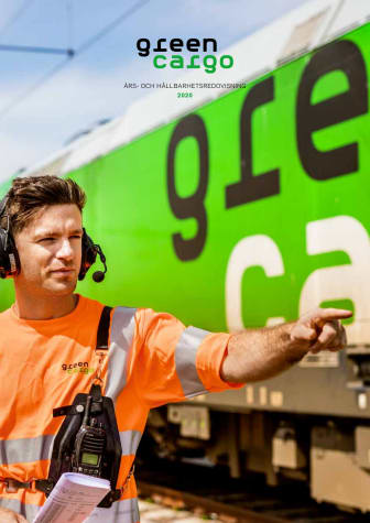 Green Cargo Års- och hållbarhetsredovisning 2020