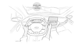 Interiördesignen i nya generationens Fiesta har utformats för bästa möjliga användarupplevelse.