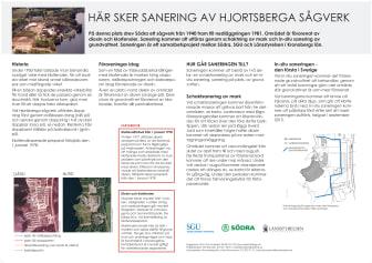 Nu startar saneringen av Hjortsberga sågverk