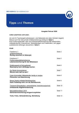 Tipps und Themen 2-2020