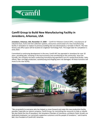 Camfil New facility global release.pdf