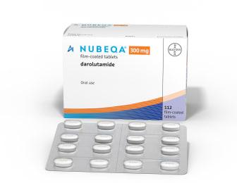 Nubeca (darolutamid), prostatacancer