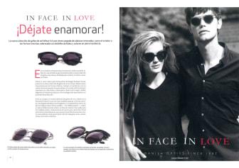 In Face In Love seen in Look Vision
