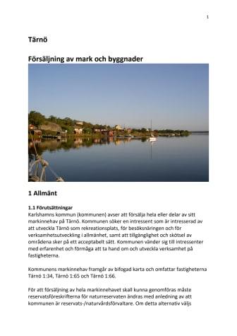 Karlshamns kommun vill sälja mark och byggnader på skärgårdsö