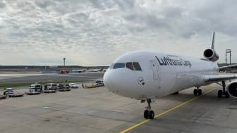 Farewell MD-11F last roll-in, Frankfurt, 17 October 2021