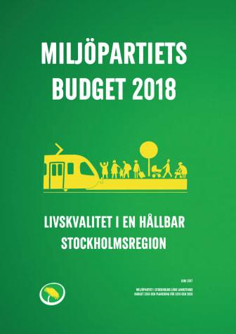 Miljöpartiet  vill att Stockholms läns landsting tar ledartröjan i klimatarbetet