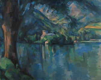 Paul Cézanne: Lac d'Annecy (1896), The Samuel Courtauld Trust, The Courtauld Gallery, London