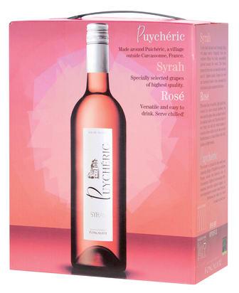 Puycheric Syrah Rosé 2011 box