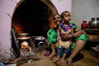 Chulika cookstoves, Raichur, Indien