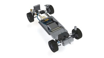 Blue World Technologies' methanol fuel cell vehicle